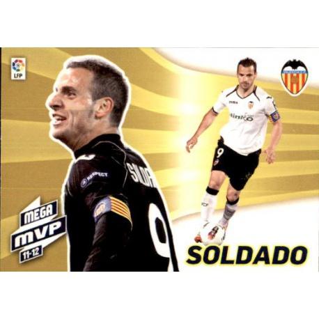 Soldado Mega MVP 11-12 Valencia 439 Megacracks 2012-13