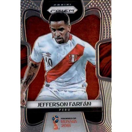 Jefferson Farfan Peru 296 Prizm World Cup 2018