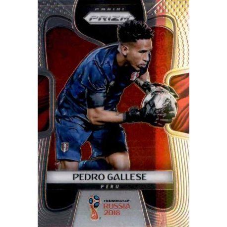 Pedro Gallese Peru 300 Prizm World Cup 2018