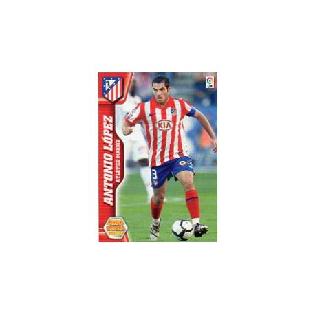 Antonio López Atlético Madrid 41 Megacracks 2010-11