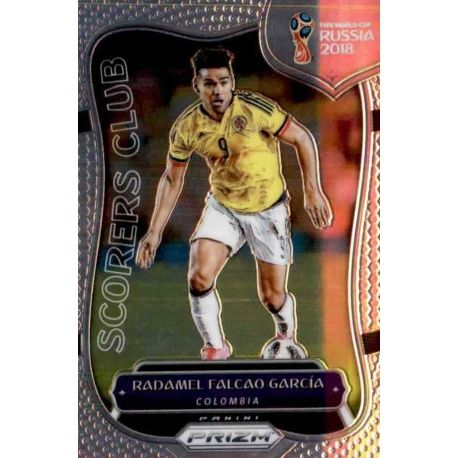 Radamel Falcao Scorers Club 4 Prizm World Cup 2018