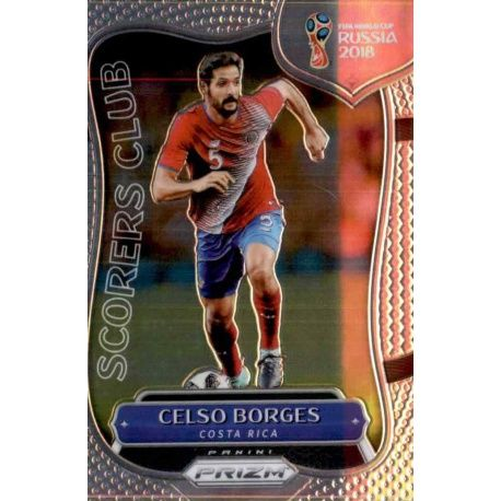 Celso Borges Scorers Club 5 Prizm World Cup 2018
