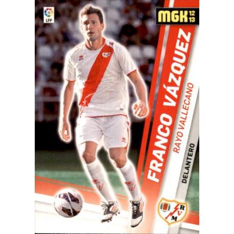 Franco Vázquez Nuevos Fichajes Rayo Vallecano 478 Megacracks 2012-13