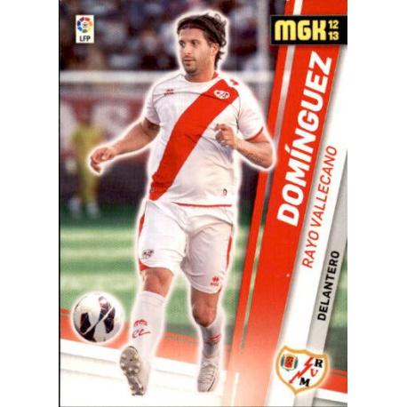 Domínguez Nuevos Fichajes Rayo Vallecano 489 Megacracks 2012-13