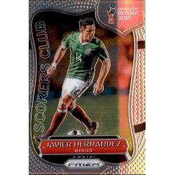 Javier Hernandez Scorers Club 13