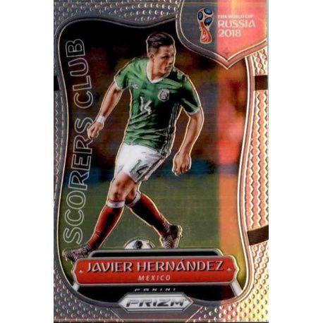 Javier Hernandez Scorers Club 13 Prizm World Cup 2018