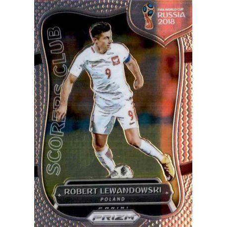 Robert Lewandowski Scorers Club 15 Prizm World Cup 2018