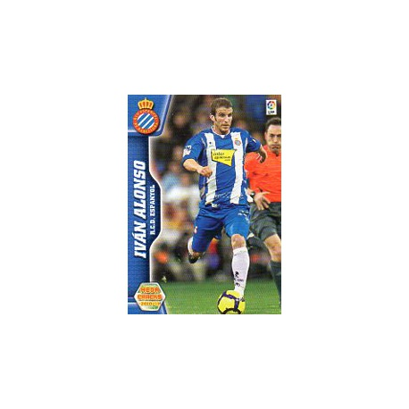 Iván Alonso Espanyol 108 Megacracks 2010-11