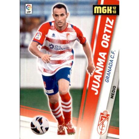 Juanma Ortíz Fichas Bis Granada 157 Bis Megacracks 2012-13