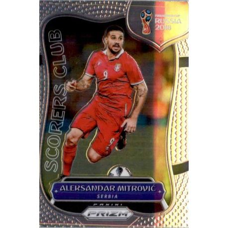 Aleksandar Mitrovic Scorers Club 19Prizm World Cup 2018