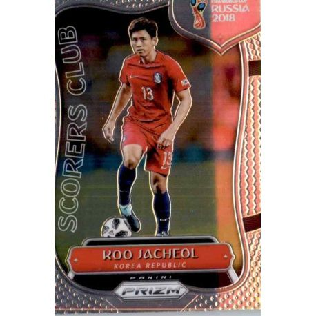 Koo Jacheol Scorers Club 20 Prizm World Cup 2018