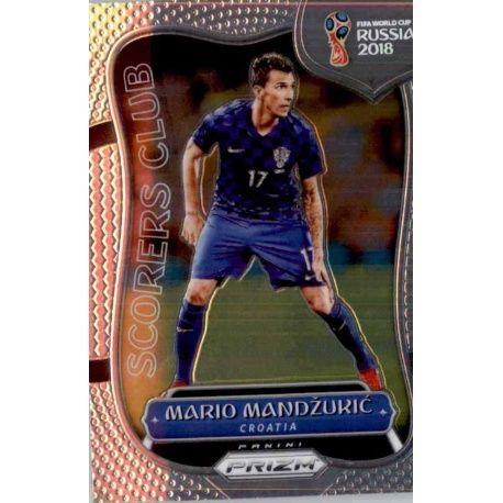 Mario Mandzukic Scorers Club 23 Prizm World Cup 2018