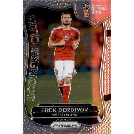 Eren Derdiyok Scorers Club 25 Prizm World Cup 2018