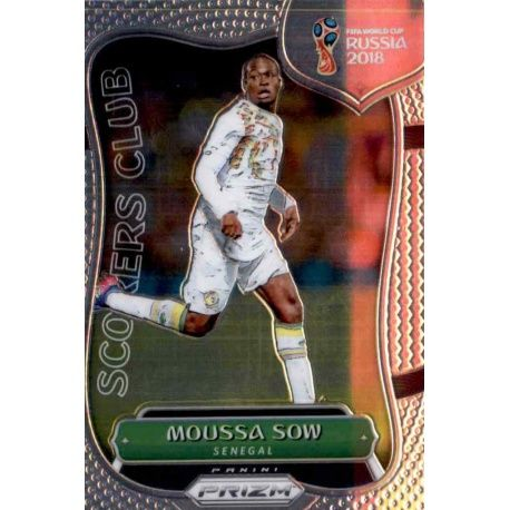 Moussa Sow Scorers Club 29 Prizm World Cup 2018