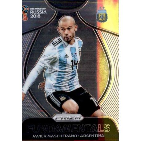 Javier Mascherano Fundamentals 1 Prizm World Cup 2018