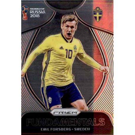 Emil Forsberg Fundamentals 20 Prizm World Cup 2018