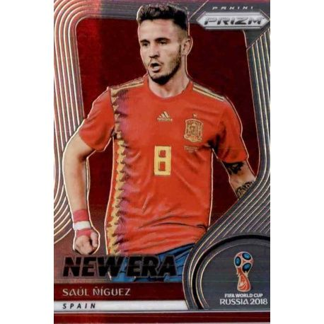Saul Niguez New Era 18 Prizm World Cup 2018
