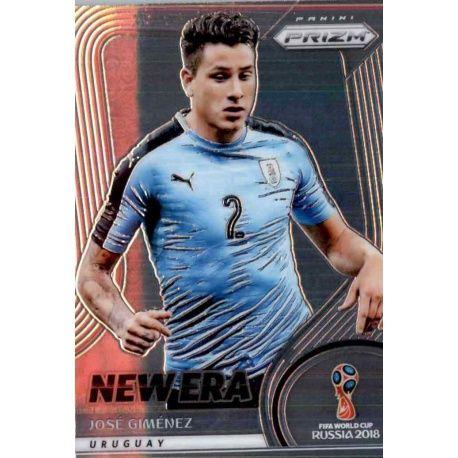 Jose Gimenez New Era 20 Prizm World Cup 2018