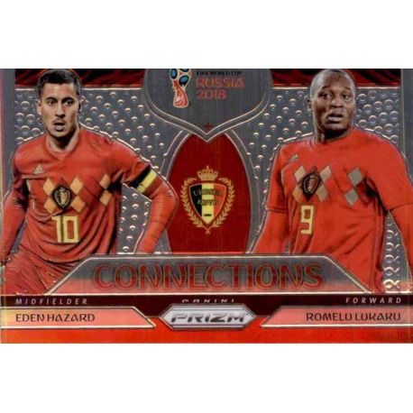 Romelu Lukaku - Eden Hazard Connections 2 Prizm World Cup 2018