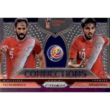 Bryan Ruiz - Celso Borges Connections 4 Prizm World Cup 2018