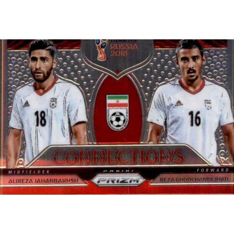 Alireza Jahanbakhsh - Reza Ghoochannejhad Connections 10 Prizm World Cup 2018