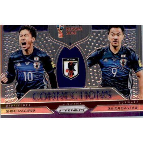 Shinji Okazaki - Shinji Kagawa Connections 11 Prizm World Cup 2018
