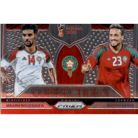 Mbark Boussoufa - Rachid Alioui Connections 13 Prizm World Cup 2018