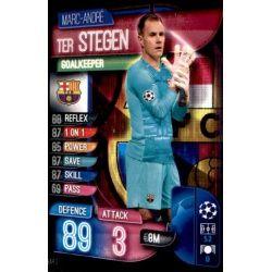 Marc-André ter Stegen Barcelona BAR 2 Match Attax Champions 2019-20