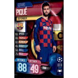 Gerard Piqué Barcelona BAR 3 Match Attax Champions 2019-20