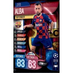 Jordi Alba Barcelona BAR 4 Match Attax Champions 2019-20