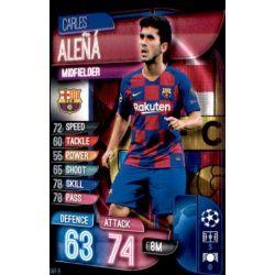 Carles Aleñá Barcelona BAR 9 Match Attax Champions 2019-20