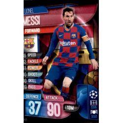 Lionel Messi BAR 11 Match Attax Champions 2019-20