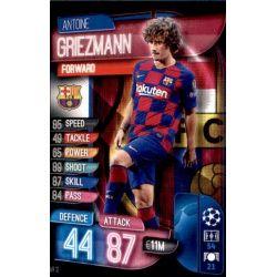 Antoine Griezmann BAR 12 Match Attax Champions 2019-20