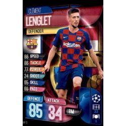 Clement Lenglet Barcelona BAR 13 Match Attax Champions 2019-20