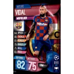 Arturo Vidal Barcelona BAR 14 Match Attax Champions 2019-20
