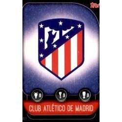Escudo Atlético Madrid ATL 1 Match Attax Champions 2019-20