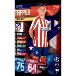 Kieran Trippier Atlético Madrid ATL 3 Match Attax Champions 2019-20