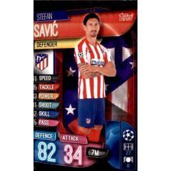 Stefan Savic Atlético Madrid ATL 5 Match Attax Champions 2019-20