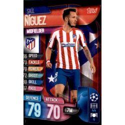 Saúl Ñiguez Atlético Madrid ATL 7 Match Attax Champions 2019-20