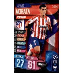 Alvaro Morata Atlético Madrid ATL 10 Match Attax Champions 2019-20