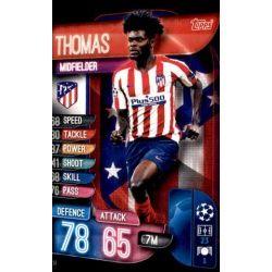Thomas Atlético Madrid ATL 14 Match Attax Champions 2019-20