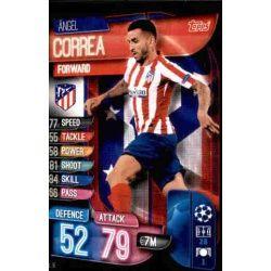Ángel Correa Atlético Madrid ATL 16 Match Attax Champions 2019-20