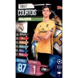 Thibait Courtois Real Madrid REA 2 Match Attax Champions 2019-20