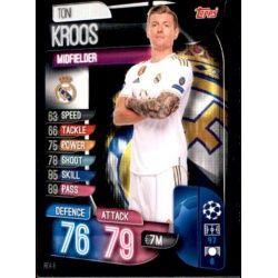 Toni Kroos Real Madrid REA 8 Match Attax Champions 2019-20
