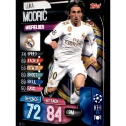 Luka Modrić Real Madrid REA 9 Match Attax Champions 2019-20