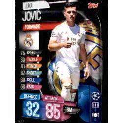 Luka Jovic Real Madrid REA 11 Match Attax Champions 2019-20