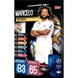 Marcelo Real Madrid REA 13 Match Attax Champions 2019-20