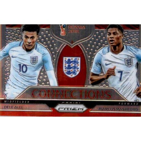 Dele Alli - Marcus Rashford Connections 20 Prizm World Cup 2018
