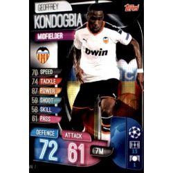 Geoffrey Kondogbia Valencia VAL 7 Match Attax Champions 2019-20