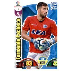 Fernando Pacheco Alavés 1 Cards Básicas 2017-18